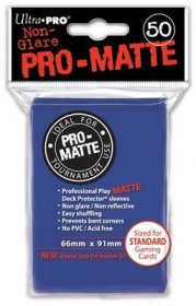 Koszulki Ultra Pro Non-Glare Pro-Matte NIEBIESKIE (50) [5E-82653]