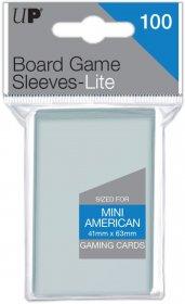 KOSZULKI NA KARTY (Gry planszowe) - LITE Mini American 41x63 (100 szt.) [5E-85940]