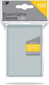 KOSZULKI NA KARTY (Gry planszowe) - LITE Standard American 56x87 (100 szt.) [5E-85943]