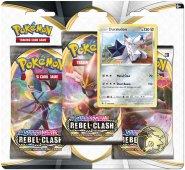 POKEMON: SW&SH 2 Rebel Clash 3PK blister - DURALUDON [POK80685]