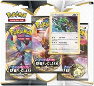 POKEMON: SW&SH 2 Rebel Clash 3PK blister - RAYQUAZA [POK80685]