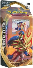 POKEMON: SW&SH 2 Rebel Clash Theme Deck - ZAMAZENTA [POK80689]
