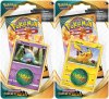 POKEMON: SW&SH 3 Darkness Ablaze CHECKLANE blister KOMPLET - Hatenna + Pikachu [POK80717×2]