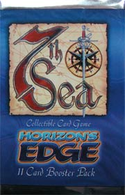 7TH SEA HORIZON'S EDGE booster - zestaw dodatkowy [36807522]