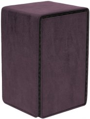 Suede Collection Alcove Tower AMETYST Deck Box [5E-15484]