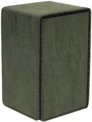 Suede Collection Alcove Tower EMERALD Deck Box [5E-15491]