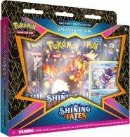 POKEMON TCG: Sword & Shield 4.5 Shining Fates Mad Party Pin Box - GALARIAN MR. RIME [POK80868]
