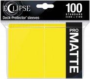 Protektor Eclipse Pro Matte LEMON YELLOW Standard (100 szt.) [5E-15620]