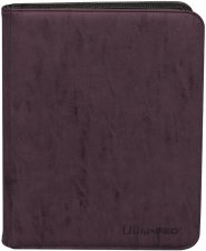 Suede Collection 9-pocket Premium PRO-Binder AMETHYST (fioletowy) [5E-15481]