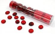 Znaczniki szklane w tubie Crystal Red (40) [CHX01124]