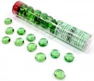 Znaczniki szklane w tubie Crystal Light Green (40) [CHX01135]