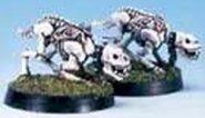 Legion Ahmuta: SKELETAL WAR DOG (2 figurki) [1F887100000]
