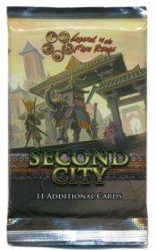 L5R: Legenda Pięciu Kręgów (Legend of the Five Rings) - <b>SECOND CITY</b> booster - zestaw dodatkowy (11) [AEG15910]