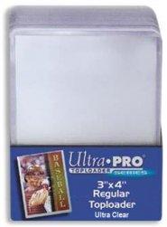 Ultra Pro TOPLOADER REGULAR Ultra Clear 3×4