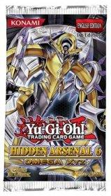 YGO: Yu-Gi-Oh! Hidden Arsenal 6: Omega XYZ booster - zestaw dodatkowy [YGO24616]