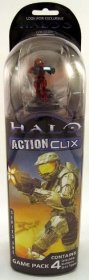 HALO ActionClix 4-Figure Game Pack [WZK1308]