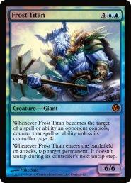 Karta MTG Frost Titan Promo Foil [MTGSDUELS2012]