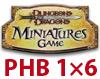 DDM PHB1: HEROES KOMPLET - Karton 6 bst. - Primal v1, Divine v1,Arcane v1,v2, Martial v1,v2 [425050000-425055000]