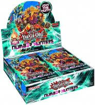 YGO: Yu-Gi-Oh! TCG Number Hunters Booster BOX - 24 boostery (wszystkie karty FOIL) [YGO34393×24]