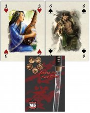 Standardowe karty do gry POKER DECK - Legend of the Five Rings - talia kart (54) [AEG16701]