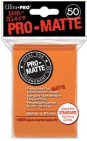 Koszulki Ultra Pro Non-Glare Pro-Matte POMARAŃCZOWE (50) [5E-84184]