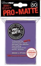 Koszulki Ultra Pro Non-Glare Pro-Matte FIOLETOWE (50) [5E-84187]