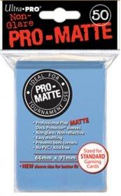 Koszulki Ultra Pro Non-Glare Pro-Matte JASNONIEBIESKIE (50) [5E-84188]