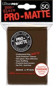 Koszulki Ultra Pro Non-Glare Pro-Matte BRĄZOWE (50) [5E-84189]