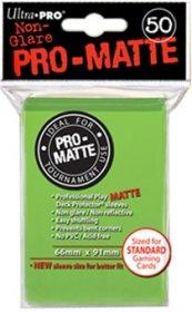 Koszulki Ultra Pro Non-Glare Pro-Matte LIMONKOWA ZIELEŃ (50) [5E-84190]