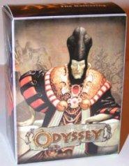 MAGIC pudełko Odyssey z czarnymi koszulki na karty (75) [406300]
