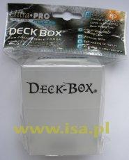 Plastikowe pudełko na karty (Deck Box) PRZEZROCZYSTE [5E-81454]