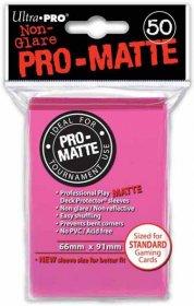 Koszulki Ultra Pro Non-Glare Pro-Matte JASNORÓŻOWE (50) [5E-84147]