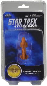 Attack Wing Star Trek: Nistrim Raider Expansion pack [WZK71282]