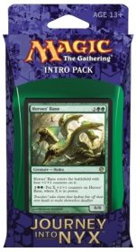 MTG: Magic the Gathering Journey into Nyx Intro Pack The Wilds and The Deep (zielono-niebieski) [MTG89406]