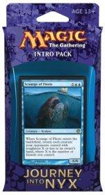 MTG: Magic the Gathering Journey into Nyx Intro Pack Fates Foreseen (niebiesko-czerwony) (ostatni 1 egz.) [MTG89406]