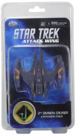 Attack Wing Star Trek: 2nd Division Cruiser Expansion pack (Wave 6) [WZK71524]