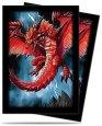 Koszulki na karty DEMON DRAGON - SMALL (YGO: Yu-Gi-Oh!/Cardfight!! Vanguard) (60) [5E-84336]