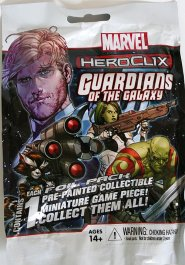 Marvel Heroclix: Guardians of the Galaxy (Comic) Gravity Feed booster (1 fig.) [WZK71466]